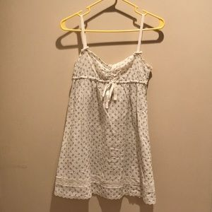 Short Floral Lolita Dress (Lana Del Rey vibes)